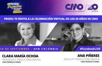 #PRODUprimetime ESPECIAL: Celebración virtual de los 20 años de CMO