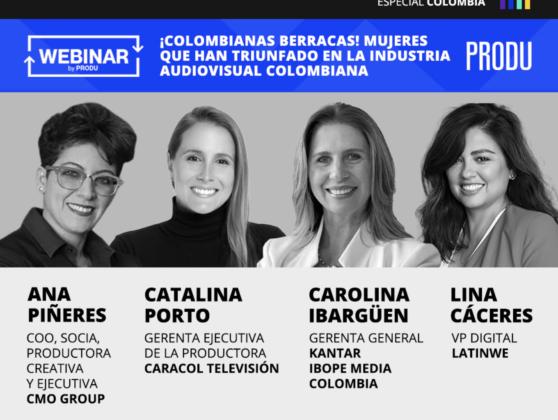 ¡Colombianas berracas! Mujeres que han triunfado en la industria audiovisual colombiana